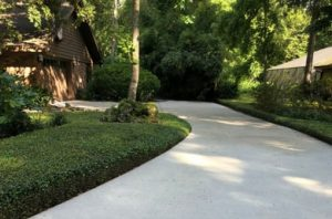 driveway and sidewalk cleaning